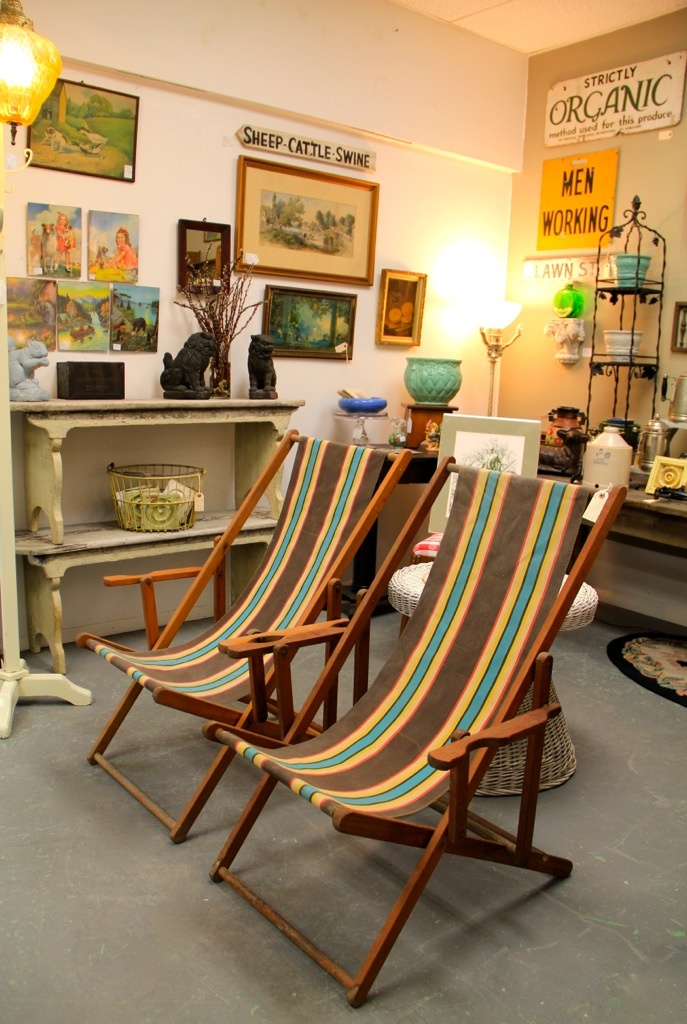 antique beach chair bedroom nursing found in ithaca pair of vintage chairs sold