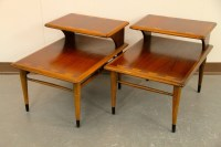 FOUND in ITHACA  Mid-Century Lane 2-Tiered End Tables (SOLD)