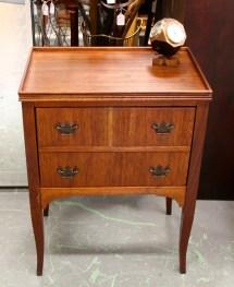 In Ithaca Vintage Mahogany Liquor Cabinet Sold