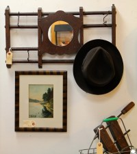 Mirror With Coat Rack - Tradingbasis