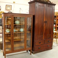 Antique Glass Door Cabinet | Antique Furniture