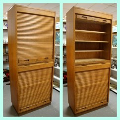Roll Up Cabinet Doors Kitchen Height Of Stools For Island Door And Roller On