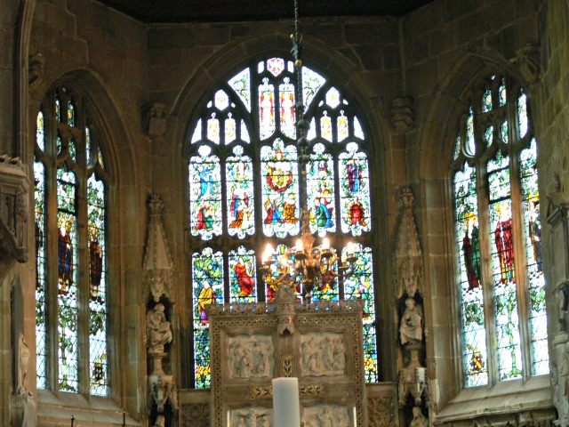 St Giles Stained Glass