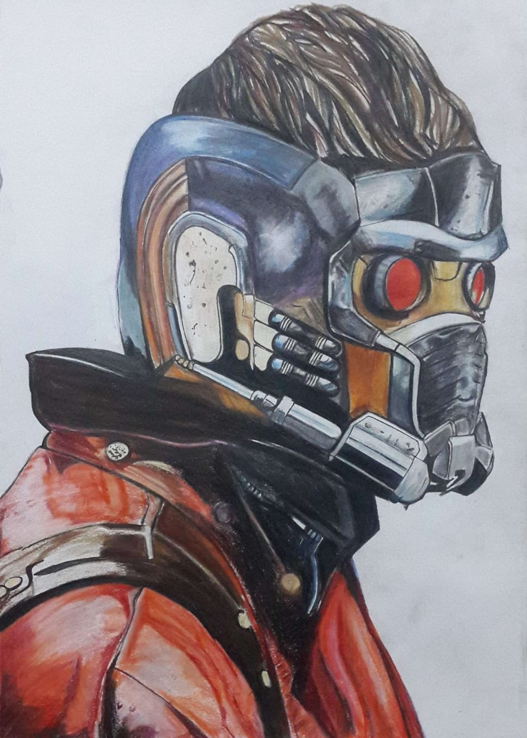 Guardians Of The Galaxy Starlord Illustration Art