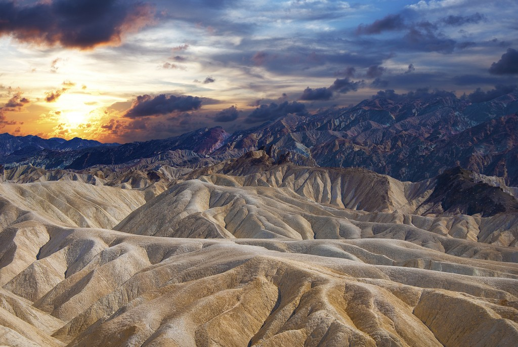 Death Valley National Park, In U.S. states of California