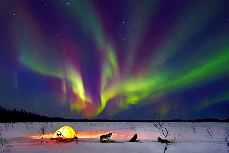 Best Time Year View Northern Lights Alaska