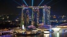 Marina Bay Sands Five Star Hotel In Singapore