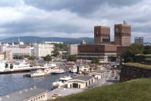 Oslo Historical And Beautiful City Of Norway