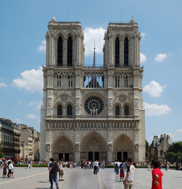 Notre Dame Oldest Cathedral In Paris - World