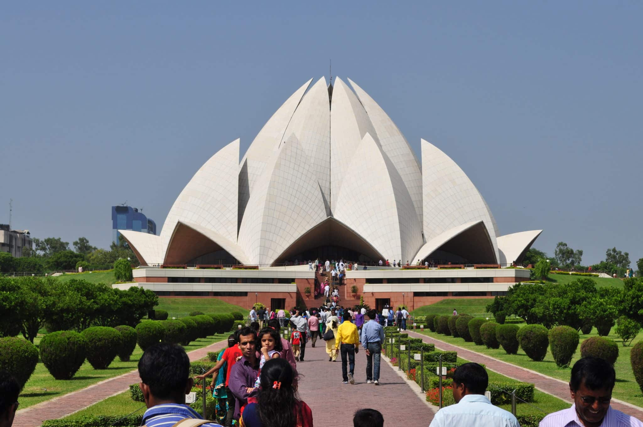 the lotus temple tourism