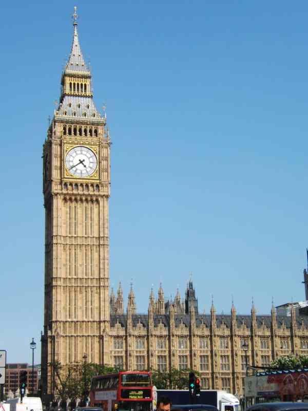 Big Ben Iconic Reputation In London World