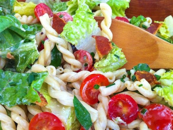 BLT Ranch Pasta Salad