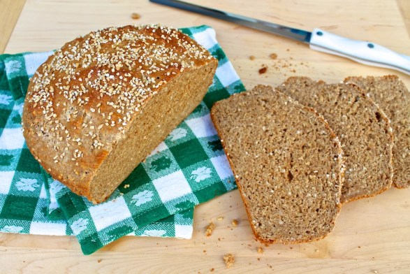 Brown Soda Bread with Steel Cut Oats
