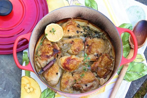 Chicken In Milk The Fountain Avenue Kitchen