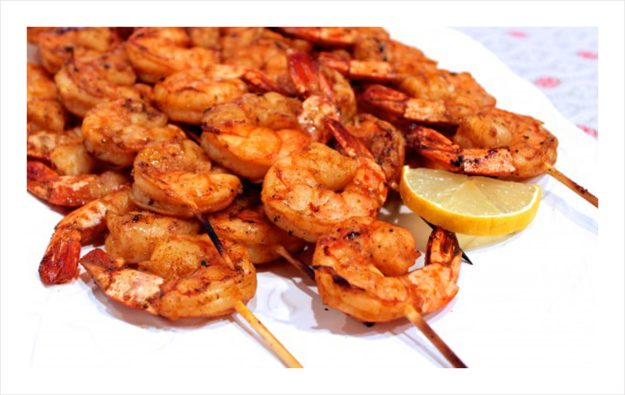Skewered-Shrimp