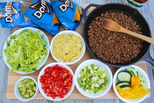 Walking Tacos -- serve straight from the bag or make a big taco salad