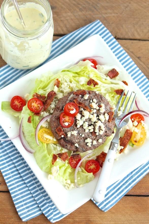 Hamburger Wedge Salad