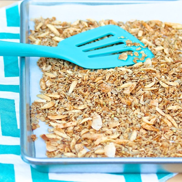 Crunchy Maple Granola