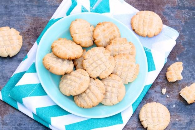 Really Easy Almond Flour Shortbread Cookies