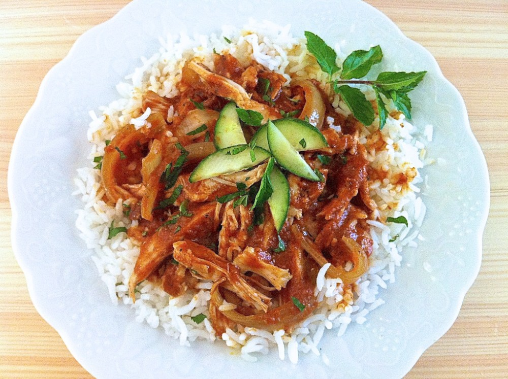 Easy Slow Cooker Chicken Tikka Masala