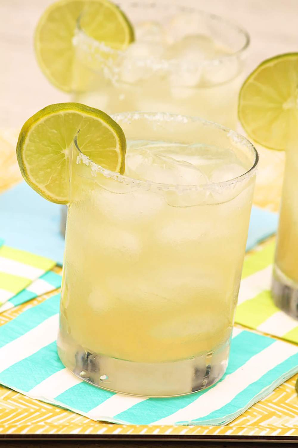 This unconventional recipe makes a large pitcherful and tastes like the best version of the classic drink. Plus, you can freeze some for later-or make a Margarita slushy!