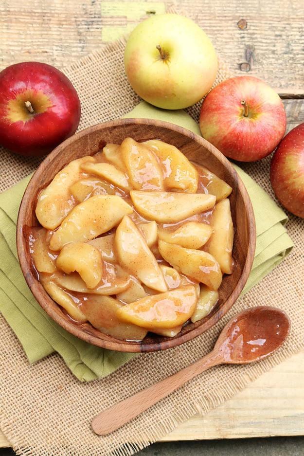 Easy Scalloped Apples