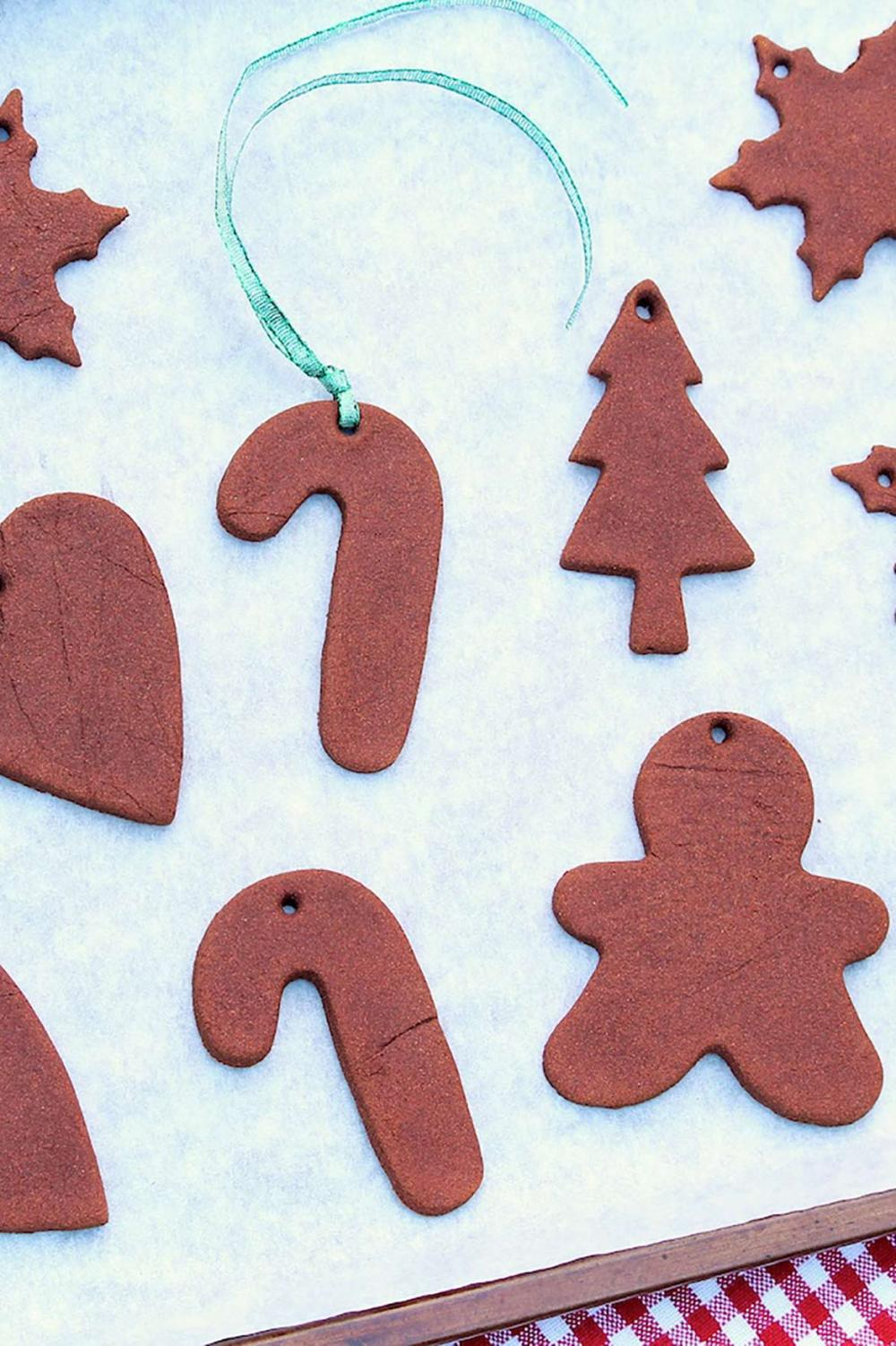 Three simple ingredients come together for a project that's fun for adults and kids alike. Once dried, you can decorate as desired or opt for a rustic look. Great as a gift and the aroma will last for years!