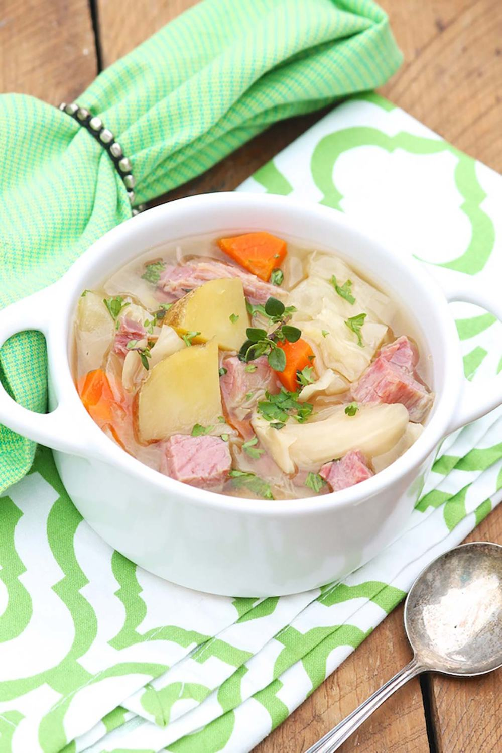 A wholesome, soul-warming way to enjoy the classic flavors of corned beef and cabbage