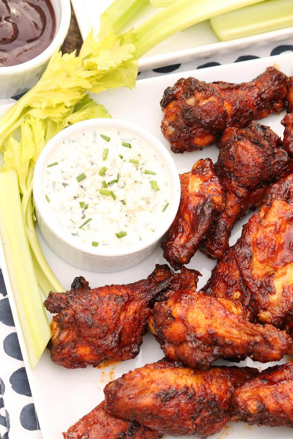 These rival your favorite restaurant wings and the simple trick guarantees extra crispy skin! (Baked, not fried)