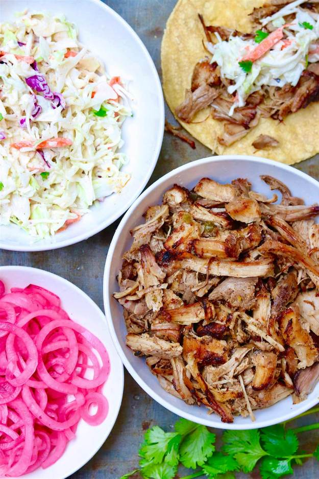 A healthier, easier way to make tender, juicy, and crispy carnitas starts with your slow cooker!
