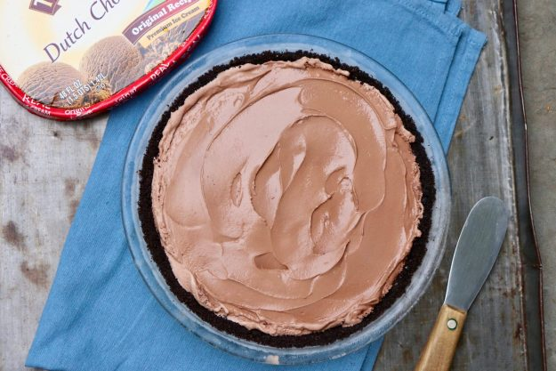 Easy Mud Pie-A true winner! The quick homemade crust adds something special (and allows for a gluten-free option) but a store-bought cookie crust works well, too