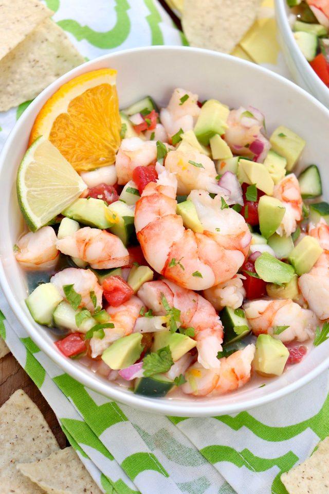 Cheater Shrimp Ceviche (no raw seafood!) – The Fountain Avenue Kitchen