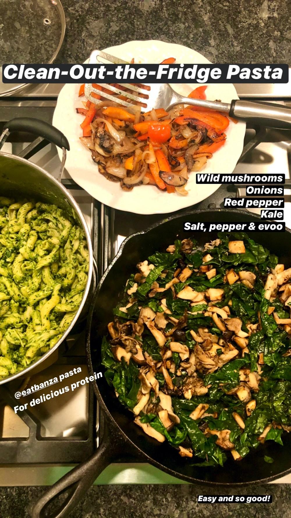 Kale Pesto turns simple, healthy ingredients into a super satisfying weeknight meal.