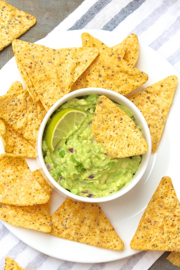 Only have one avocado or simply don't need a big batch of guacamole? This speedy version captures all the classic flavor in a quick, portion-controlled recipe!