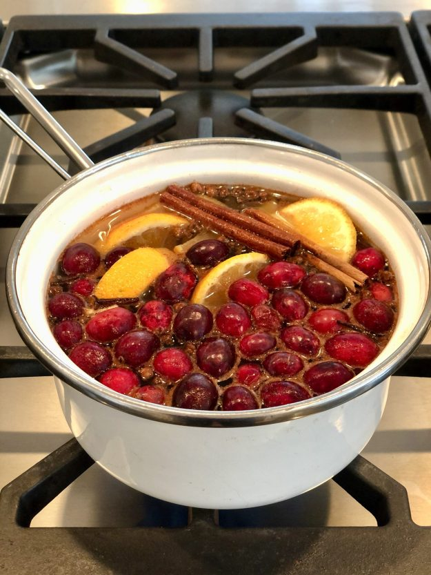 The aroma of warm spices and fresh citrus join festive cranberries in this colorful, easy-to-make mix that is perfect for gift giving.