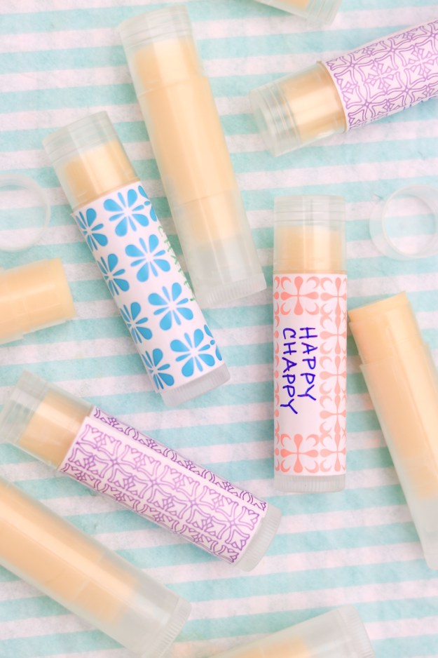 For its creamy texture and ability to effectively coat chapped lips, this homemade balm has long been my favorite chapstick. It makes a fun project and a great gift, too.