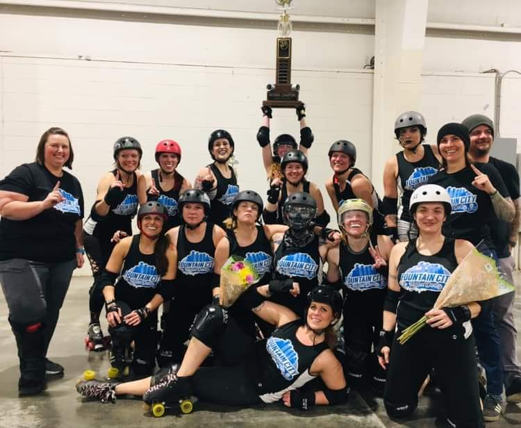 Fountain City Roller Derby Women's Champions
