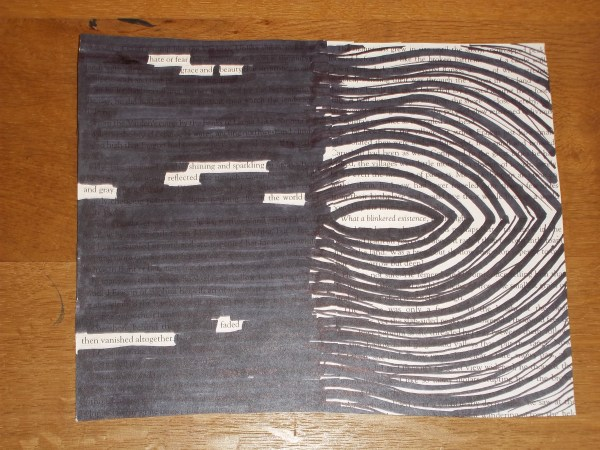Blackout Poetry Teens Vortex Teen