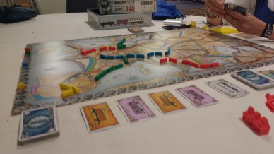 Board games! Ticket to Ride: Europe