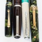 Fountain Pen Clips Moore Esterbrook Parker Doric
