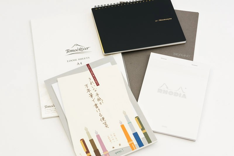 what is the best paper for fountain pens tomoe river midori rhodia