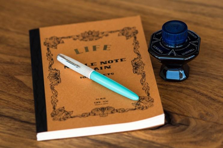 fountain pen photography gear