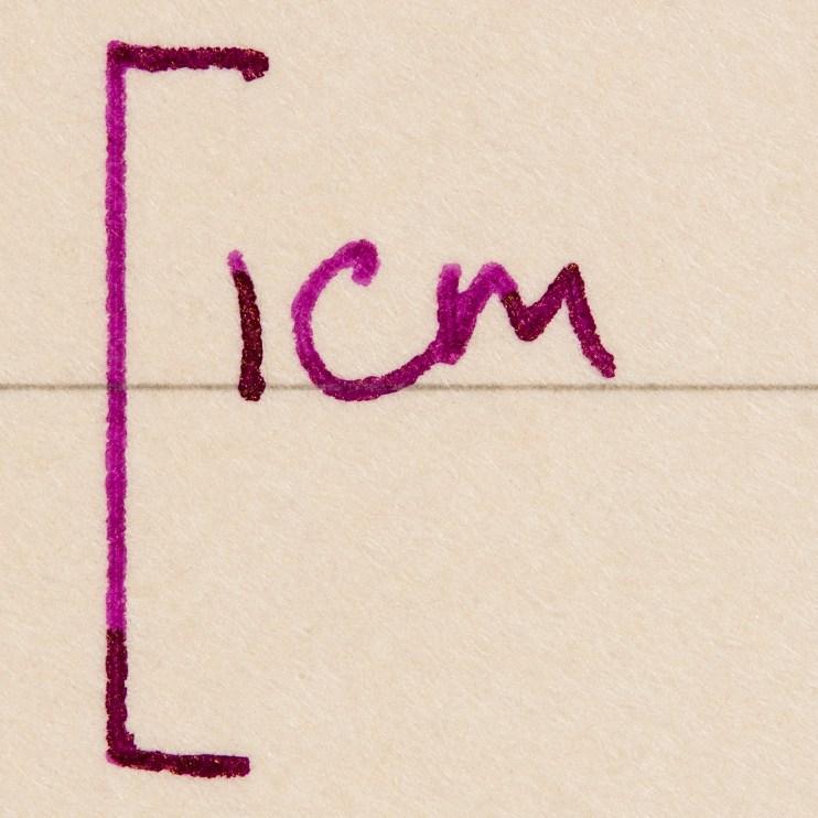 fountain pen friendly paper macro photography itoya romeo
