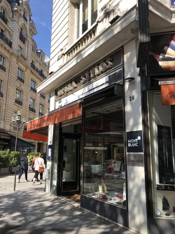 fountain pen shops in Paris opera stylos