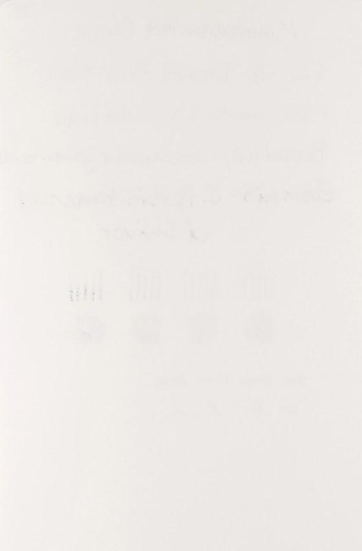 Minimalism Art Notebook Review rear writing sample