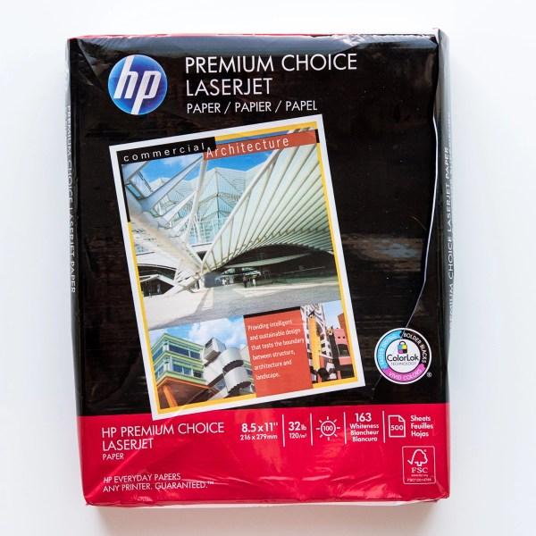 Fountain Pen Paper Sample Pack hp 32lb laserjet