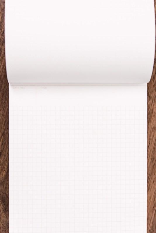 Maruman Mnemosyne Notebook Review layout