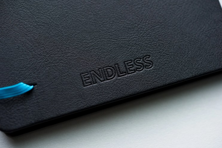 Pen Chalet Endless Recorder Notebook Review back cover