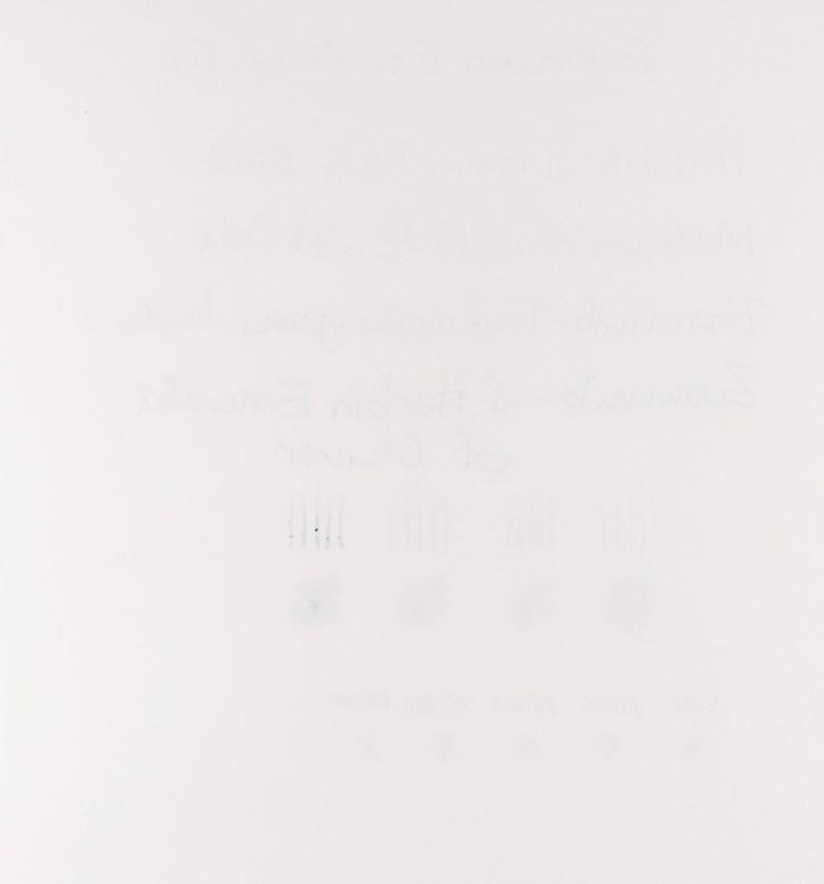 Fabriano EcoQua paper test ghosting