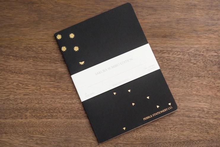 Pebble Stationery Co Sakura Sumiko notebook cover
